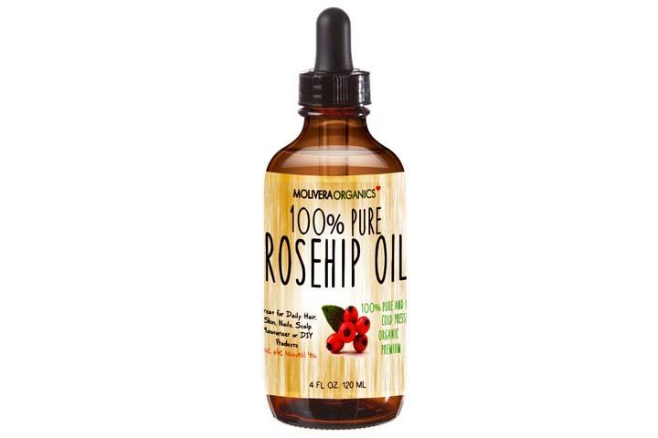 Molivera Organics Pure Rosehip Oil