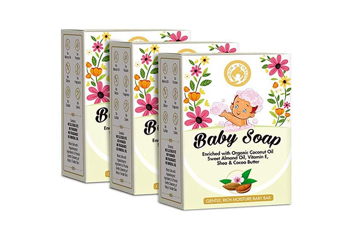 Mom and World Extra Soft Natural Baby Soap