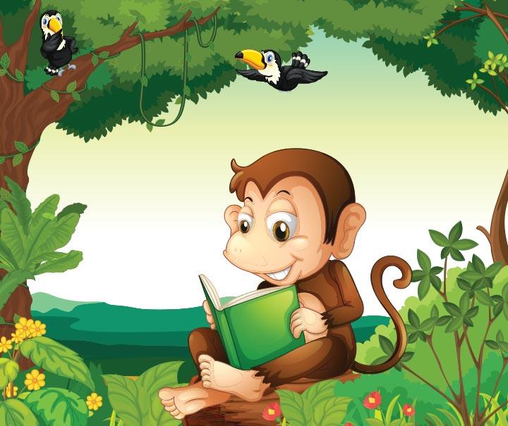 Monkey And Bird Story In Hindi
