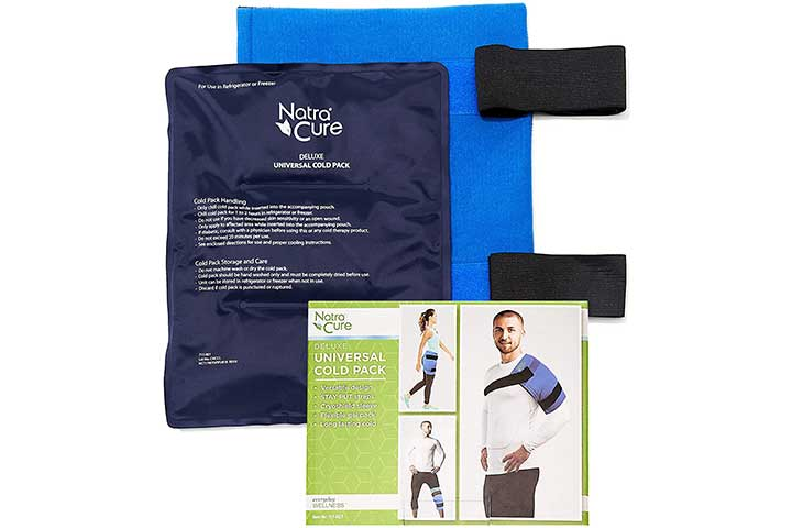 NatraCure Universal Large Gel Cold Pack Ice Wrap