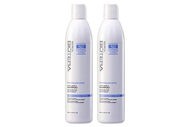 Naturelle Hypo Allergenic Fragrance-Free Shampoo