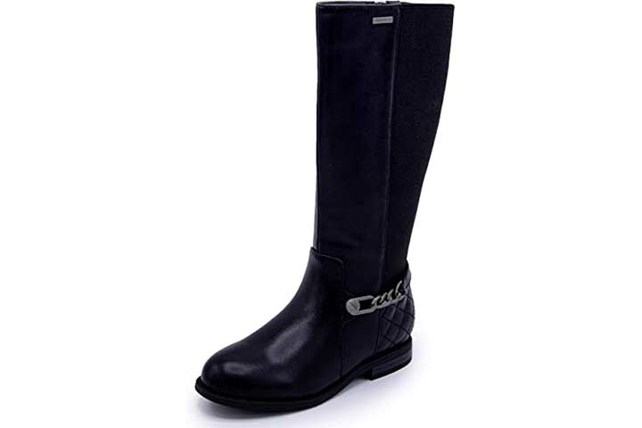 Nautica Girls Youth Knee High Fashion Riding Boots