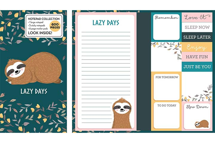 New Seasons Book Of Sticky Notes Notepad Collection