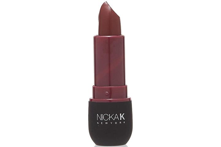 Nicka K New York Vivid Matte Lipstick In Violet Red