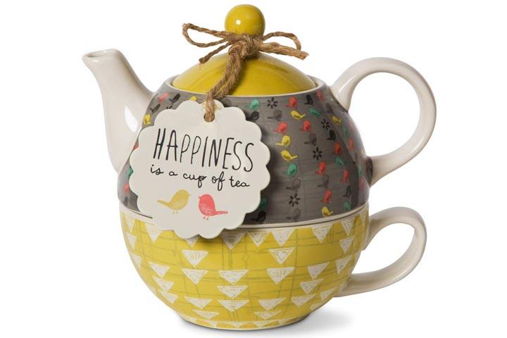 Pavilion Gift CompanyCeramic Teapot