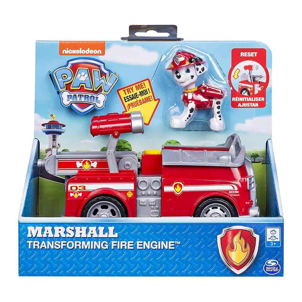 Paw Patrol Marshall Transforming Fire Engine