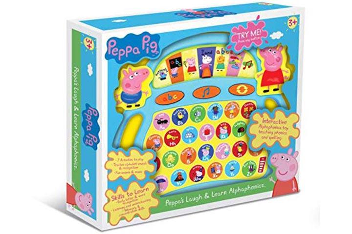 Peppa Pig Laugh And Learn Alpha phonics