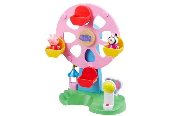 Planet Superheroes Peppa Pig Light And Sound Ferris Wheel