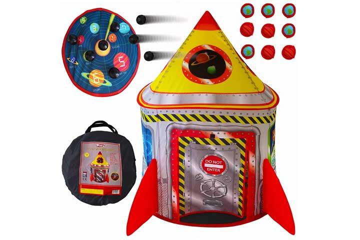 Playz Rocket Ship Play Tent