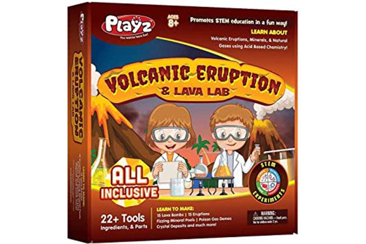 Playz Volcanic Eruption