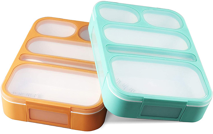 PlusPoint Kids Bento Box Containers