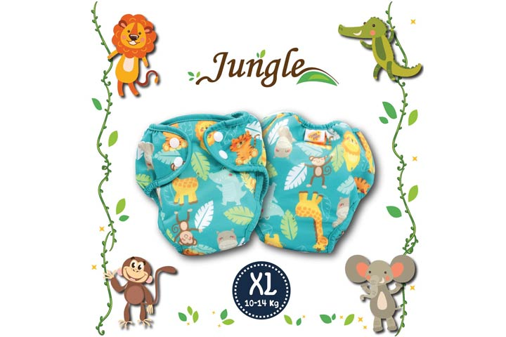 Poo reusable cloth diaper