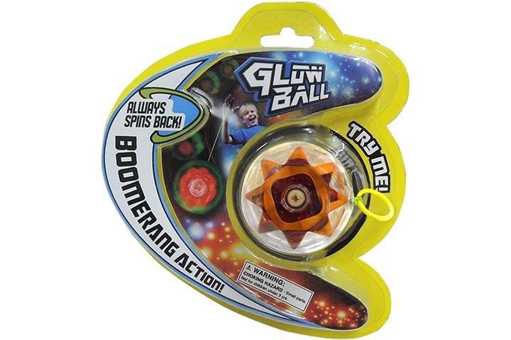 Prime Time Toys Glow Ball Light-Up Yo-Yo