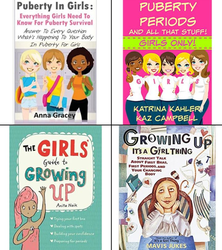 Puberty Books For Girls