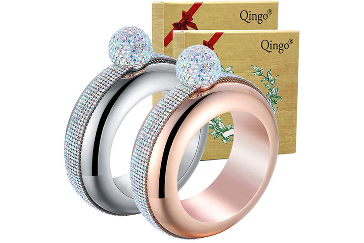 Qingo Bracelet Flask Bangle Creative