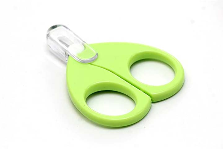 Rekong Baby Safety Scissors With Circular Cutter Head