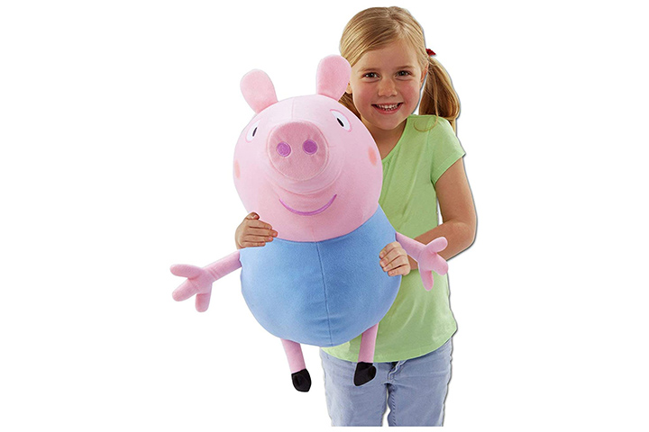 SCOOBA Kid's Favorite Cute Peppa Pig Soft Toy