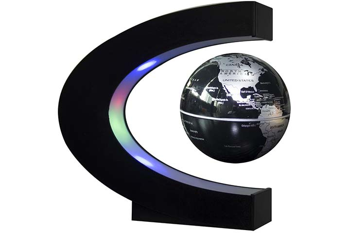 Senders Floating Globe With LED Lights