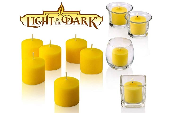 Set of 72 Votive Citronella Candles - by Light in the Dark