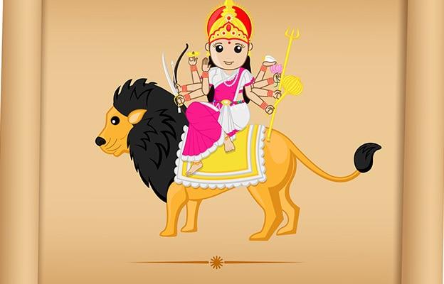 Sher Maa Durga Ki Sawaari