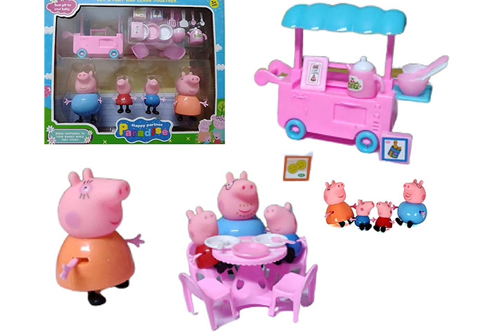 Simplifiers Peppa Pig Family Kitchen Set