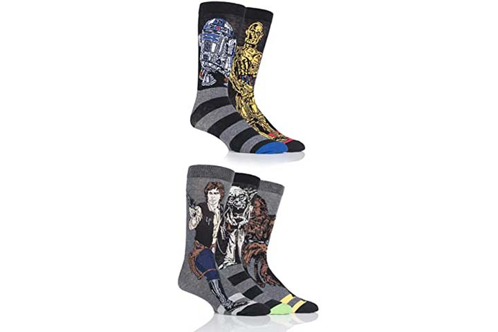 SockShop Men's 5 Pair Star Wars