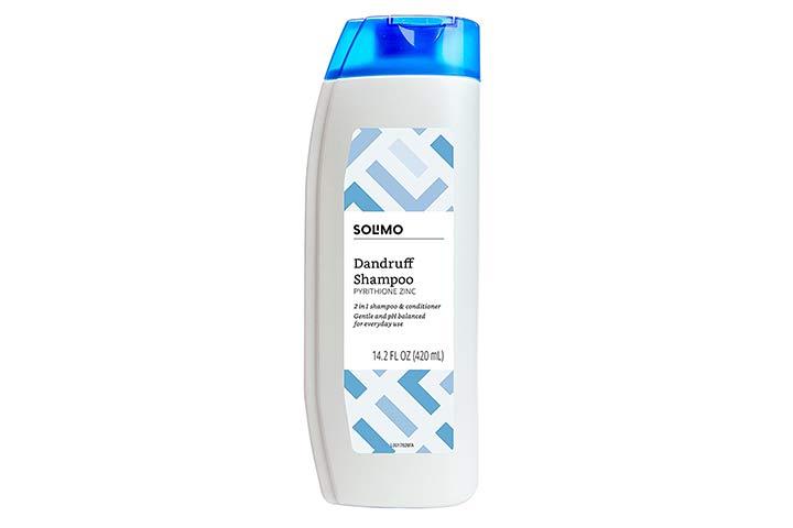 Solimo 2-in-1 Dandruff Shampoo & Conditioner