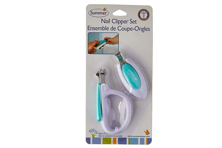 Summer infants nail clipper set