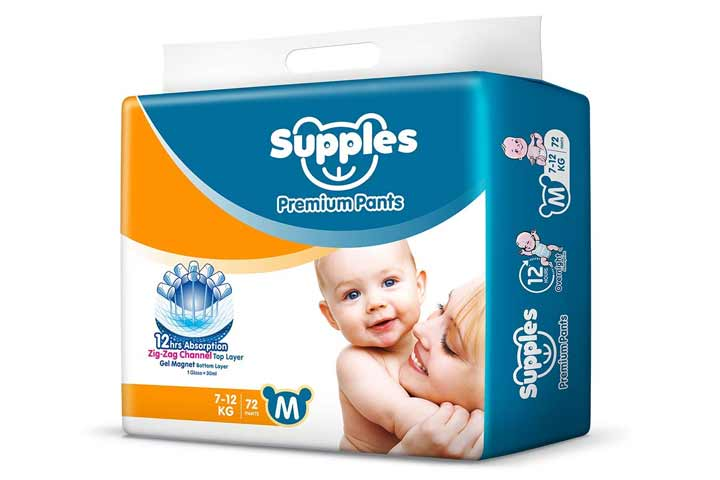 Supples Baby Pants Diapers