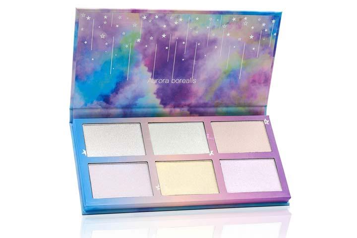 TZ Cosmetix Aurora Borealis 6 Colors HighlighterGlow Kit