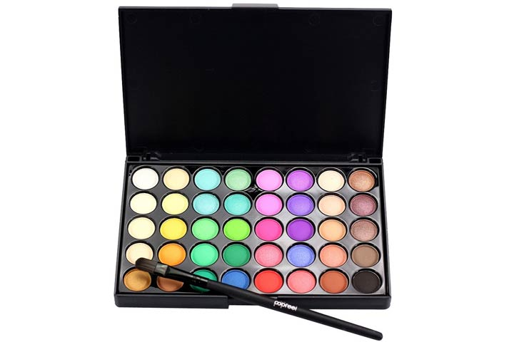Tanhangguan Matte Eyeshadow Palette And Makeup Brush Set