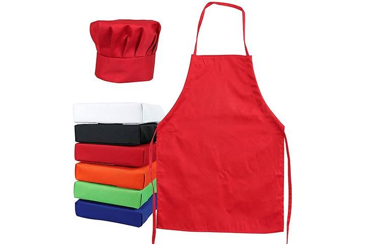 Tessa's Kitchen Child's Chef Hat & Apron Set