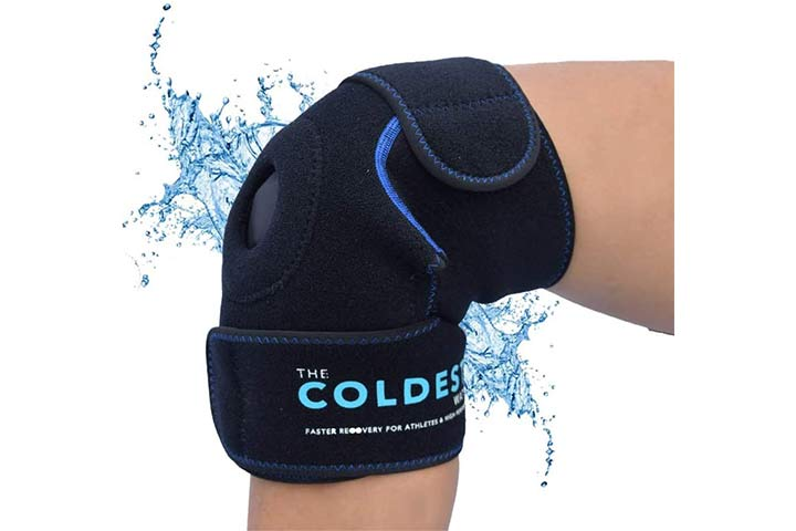 The Coldest Water's The Coldest Knee Ice Pack Wrap
