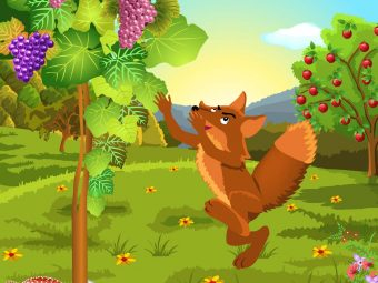 The Fox And The Grapes Story In English