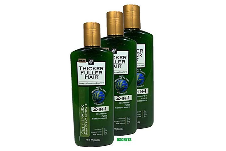 Thicker Fuller Hair 2-in-1 Shampoo Plus Conditioner