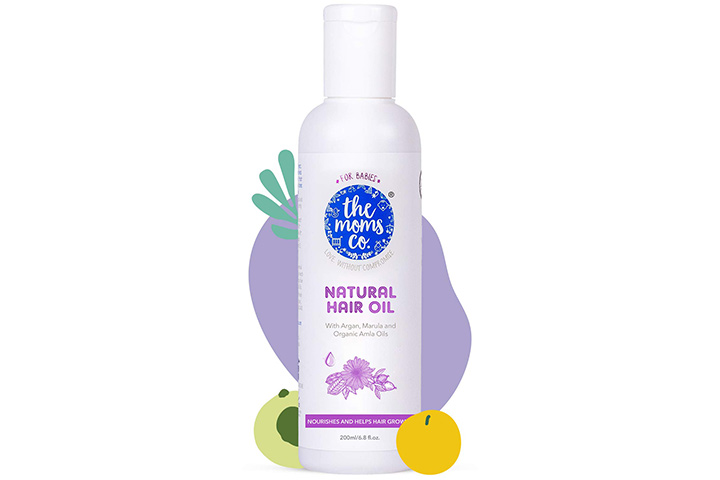 To the moms Natural 10 in 1 Baby Hair Oil