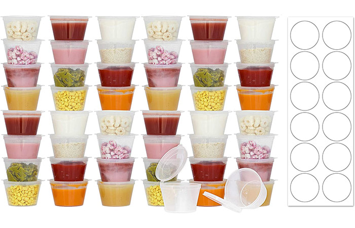 Tovla Baby Food Storage Containers