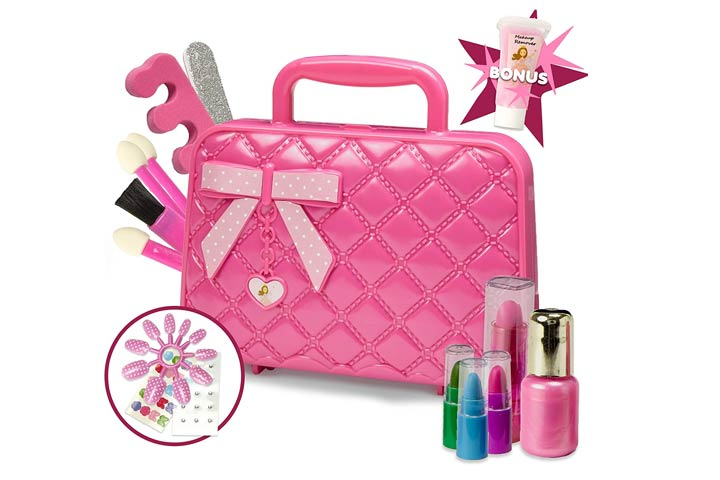 Toysical Kids Makeup Kit for Girl with Make-up Remover
