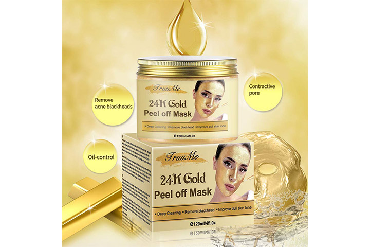 Truu Me 24k Gold Peel Off Mask