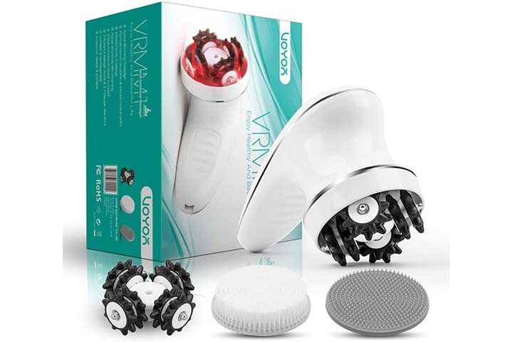 VOYOR Handheld Massager Cordless Deep Tissue Cellulite Massager