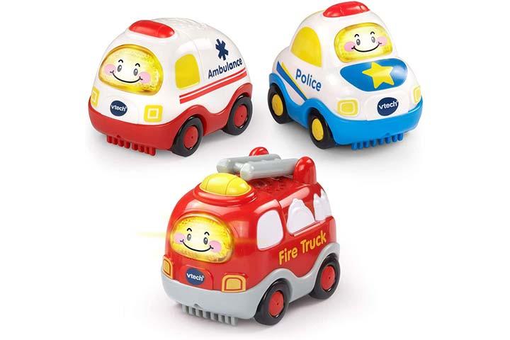 VTech Go! Go! Smart Wheels Emergency Vehicles