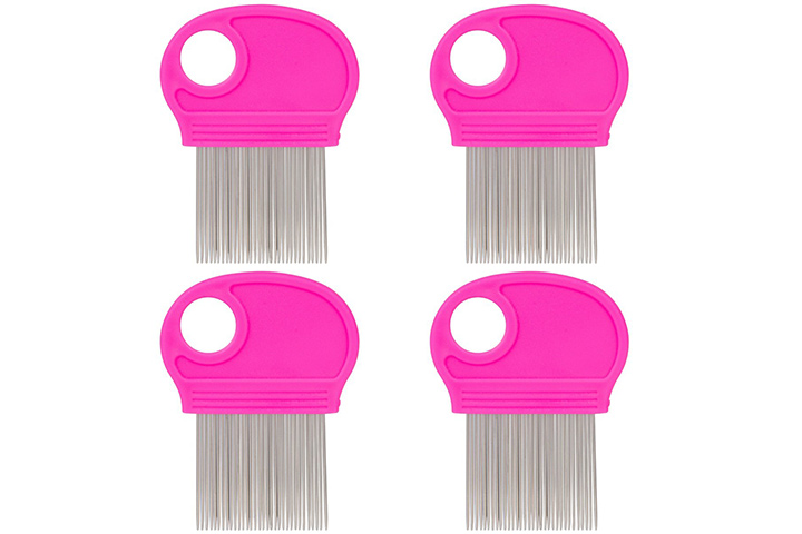 Victorie Lei Four-Pack Lice Combs