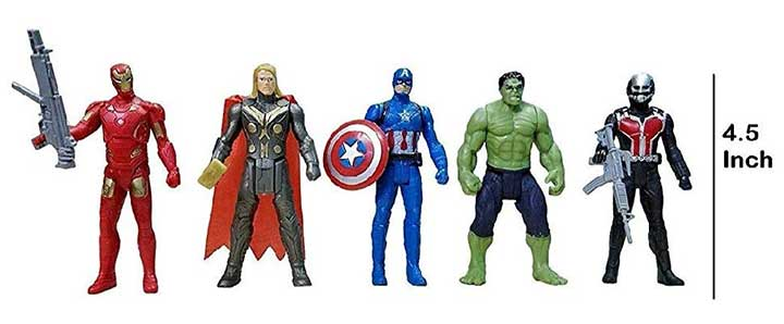 Vikas Gift Gallery Superhero Toys Set