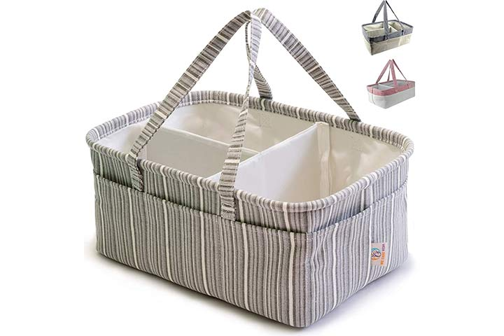 We Care Vida Diaper Caddy Organizer
