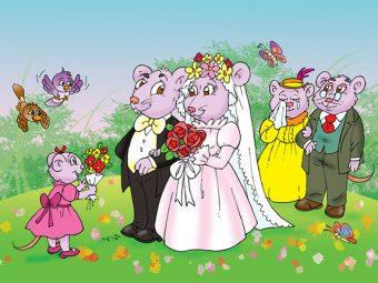 चुहिया के स्वयंवर की कहानी | The Wedding Of The Mouse Story In Hindi
