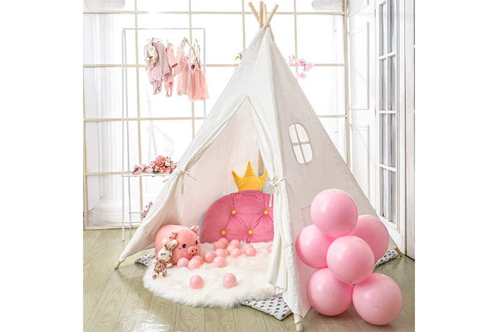 Wilwolfer Teepee Tent For Kids