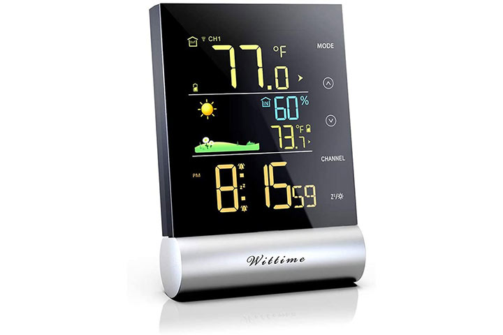 Wittime Latest 2079 Wireless Indoor-Outdoor Thermometer