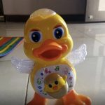 JVM Dancing Duck Toy with Music Flashing Light-Dancing duck-By amarjeet