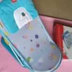 LuvLap Hippo Dippo Compact Baby Bather-Nice bather-By