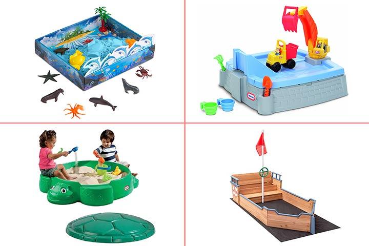 13 Best Sandboxes For Kids